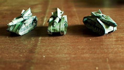 easy origami tank ikuzo origami
