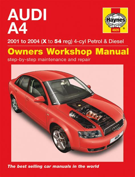 car repair manual download 2004 audi a4 auto manual reparationshandbok audi a4 rep en4609 mekanika se bildelar online