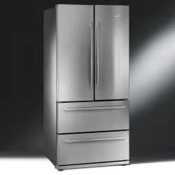 Smeg FQ55FX 84cm Two Door and Two Drawer Frost Free Fridge Freezer in Finger Friendly Stainless