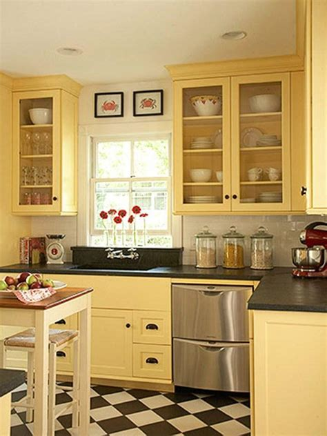 paint colors for vintage kitchen yellow colored kitchen cabinets 2016