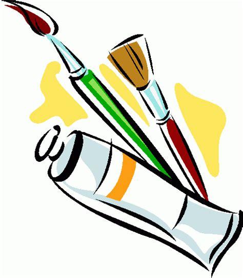 acrylic paint clipart paintbrush clipart free clipart best