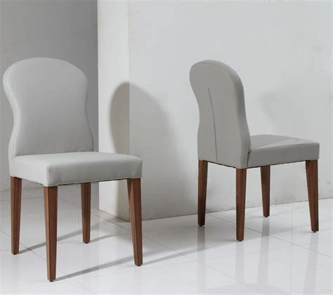 grey leather dining chairs 8968ch modern light grey eco leather dining chair