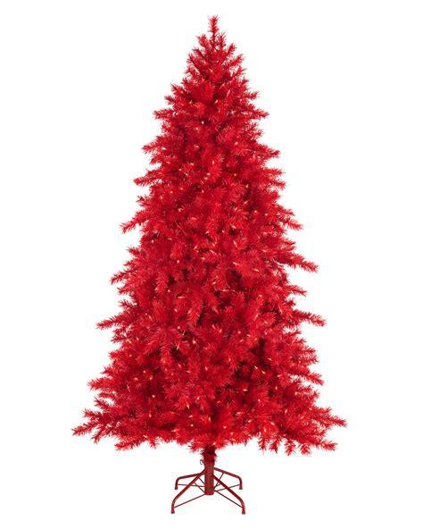 roter weihnachtsbaum pine tree treetopia