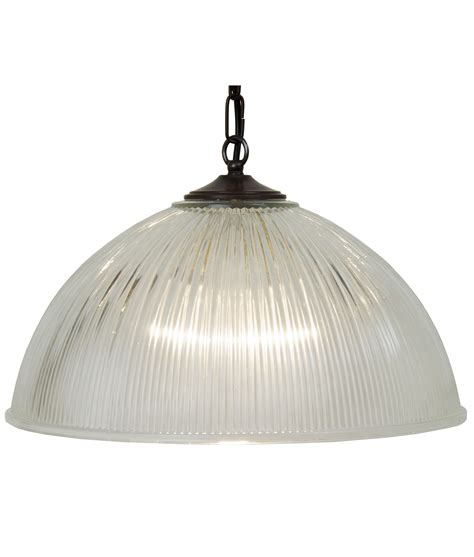 glass dome pendant light traditional ribbed glass ceiling light on chain suspension