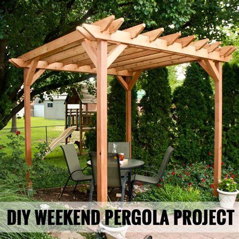 image of pergola 25 best ideas about small pergola on garage