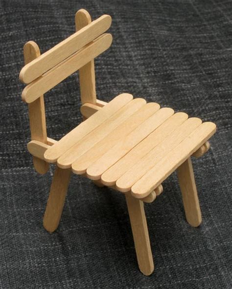 with popsicle sticks popsicle stick house with table and chairs diy family