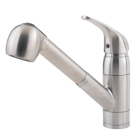 kitchen faucet price pfister shop pfister pfirst stainless steel 1 handle pull out
