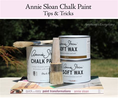 Sloan Chalk Paint Tips Tricks Anything