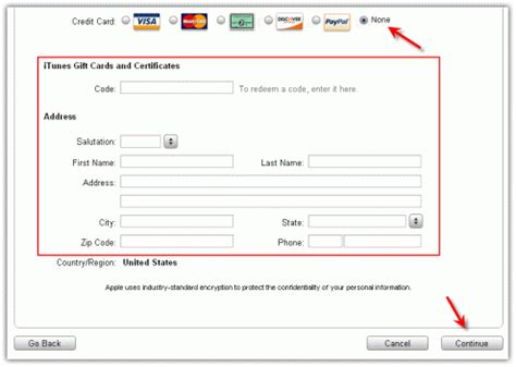 can you make a itunes account without a credit card how can i create free id for app store gsm forum