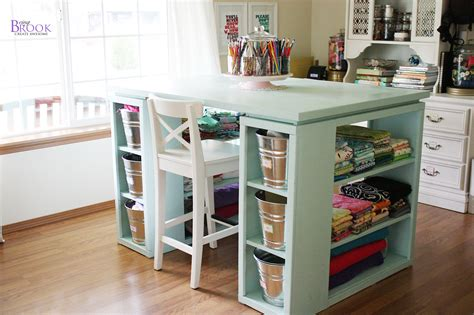 craft table white modern craft table aqua diy projects