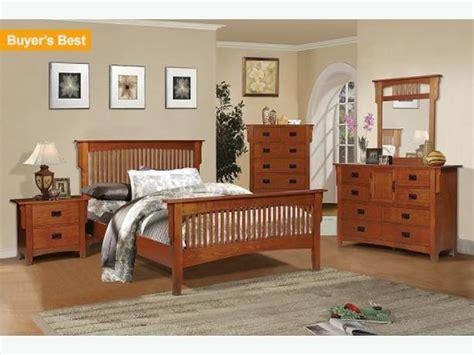 mission style bedroom sets mission style oak bedroom set in excellent shape west