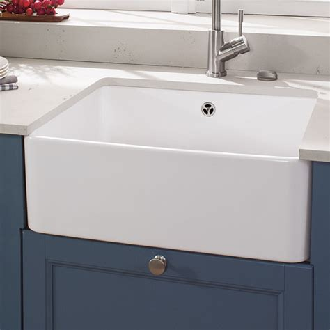 villeroy boch sinks kitchen villeroy boch farmhouse 60cm x 50cm single bowl kitchen