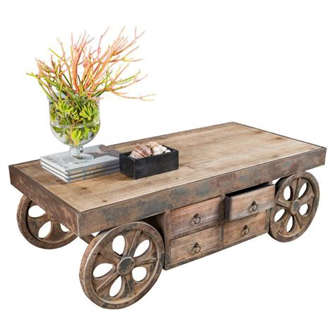 Rustic Coffee Table   Ikea Decora