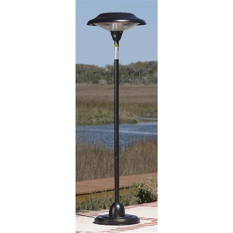 sense halogen patio heater sense hammer tone bronze floor standing