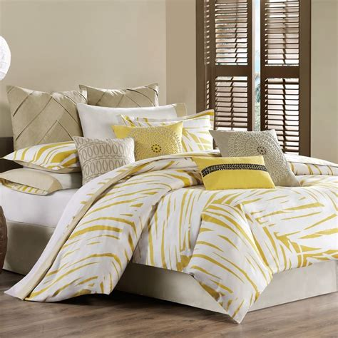 yellow comforter sets yellow bedding sets home ideas designs