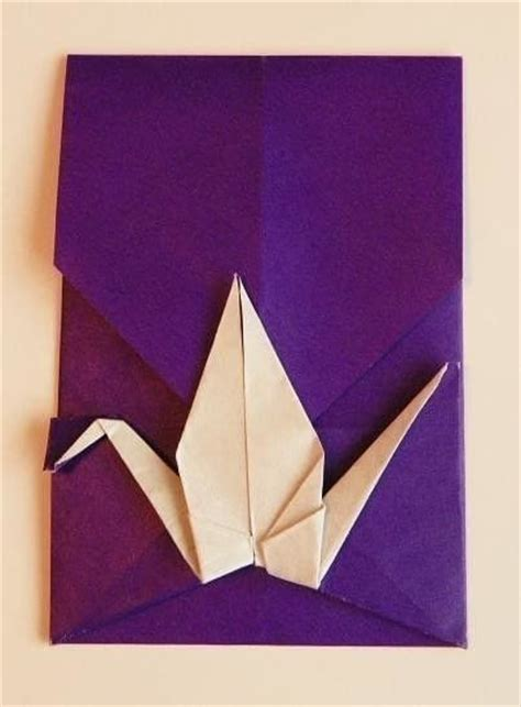 origami crane envelope origami crane envelope 183 an envelope 183 origami on cut out