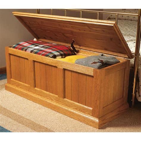 cedar chest woodworking plans cedar lined oak chest woodworking plan from wood magazine