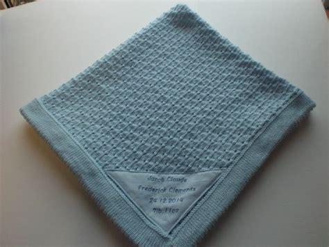 blanket knitting machine personalised baby blanket made on my knitting machine my