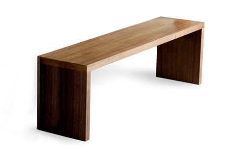 modern woodworker plank bench hip