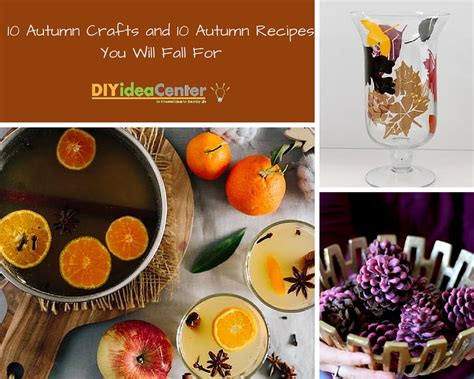 fall food crafts for 10 autumn crafts and 10 autumn recipes you will fall for