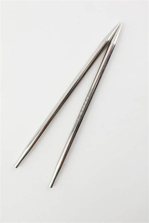 interchangeable knitting needles platina 4 5 quot interchangeable tip knitting needles
