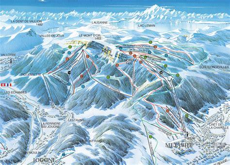 domaine skiable metabief station et pistes de ski metabief ski planet
