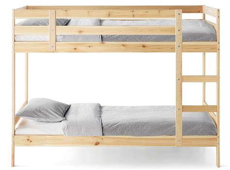 on bunk beds bunk beds wooden metal bunk beds for ikea