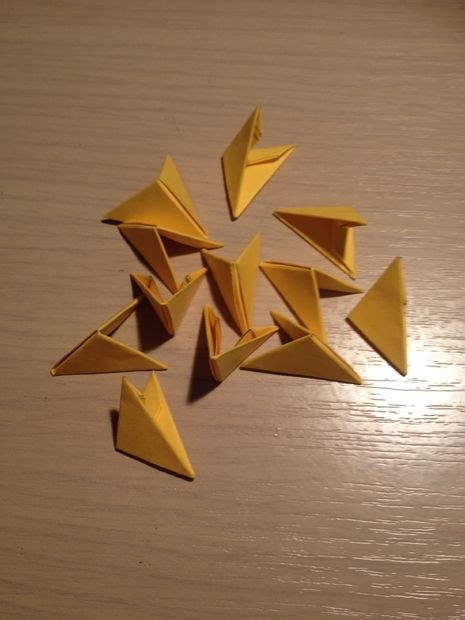 3d triangle origami 3d origami triangles