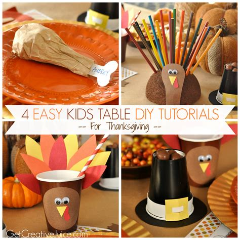 diy thanksgiving crafts for easy diy thanksgiving table ideas creative juice