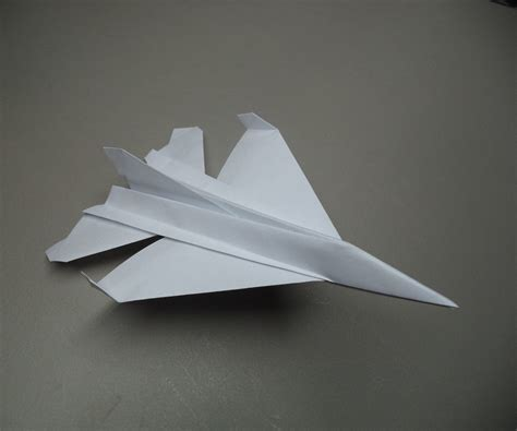 aircraft origami how to fold an origami f 16 plane