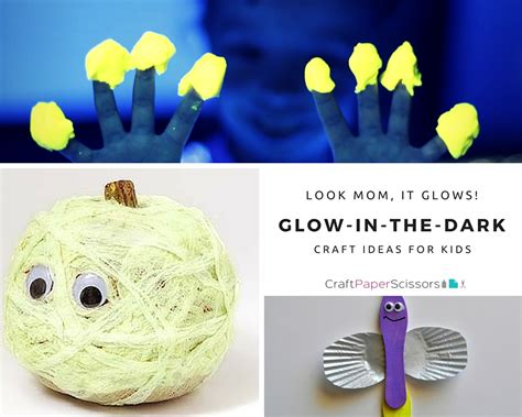 glow in the crafts for look it glows glow in the craft ideas for