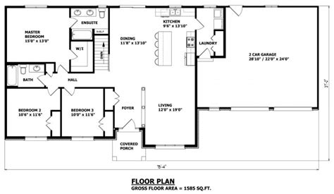 canadian bungalow floor plans house plans canada stock custom