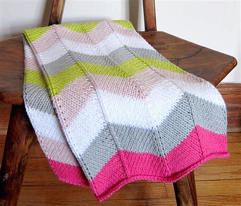 chevron knitted baby blanket pattern chevron patterns the goodness