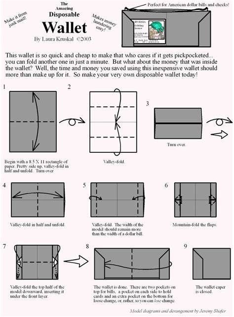 how to make a card wallet best 25 origami wallet ideas on leather