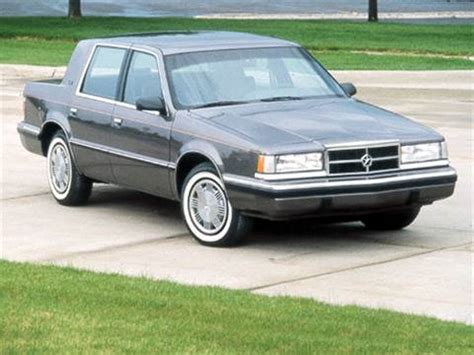 blue book value for used cars 1992 dodge d250 transmission control 1992 dodge dynasty pricing ratings reviews kelley blue book