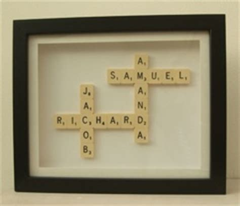 scrabble name picture scrabble