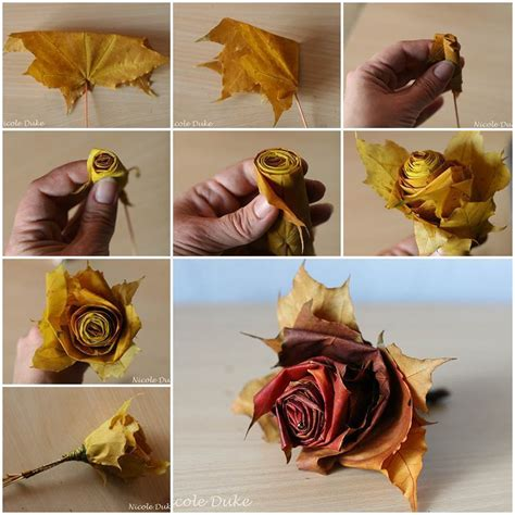 creative craft ideas for 40 creative diy craft projects with fall leaves
