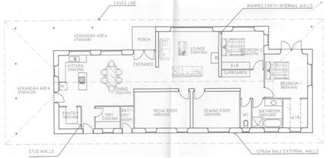 how to draft a floor plan strawbale house plans