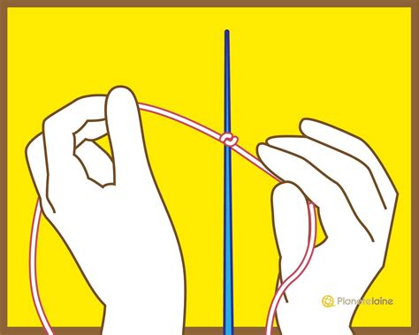 apprendre a tricoter monter les mailles