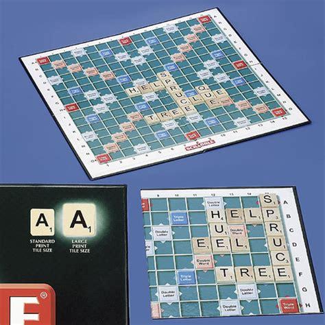 large scrabble large print scrabble box n dice