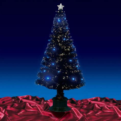black light tree beautiful 6ft 180cm black fibre optic tree with