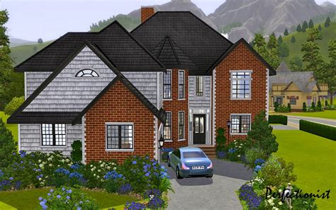 five bedroom house mod the sims 5 bedroom european style house ts3 remake no cc