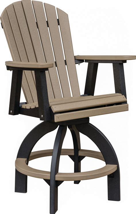 swivel bar chairs with backs swivel bar height chair comfo back