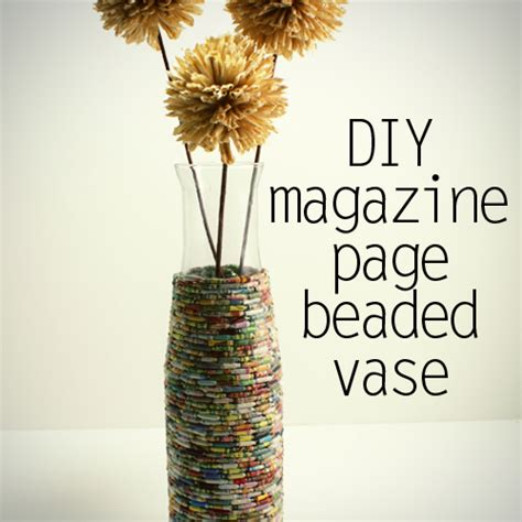 recycle paper craft recycled crafts using magazine pages