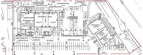 site plan sle house plans 3 parking lot site plan 1600x623