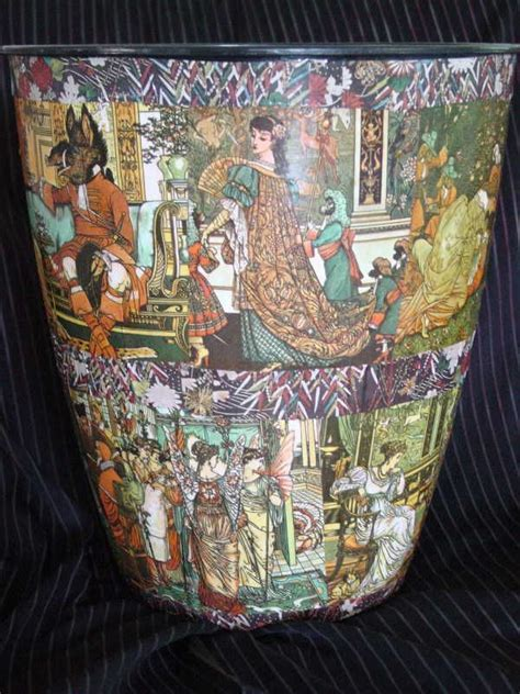 decoupage trash can 17 best images about trash never looked this