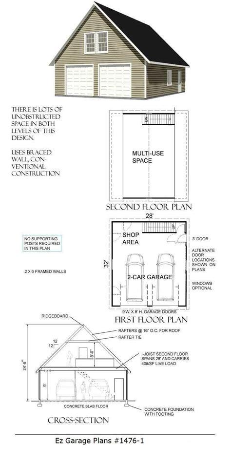 garage floor plans with loft 1024x768 x garage plan with loft showy g423a plans