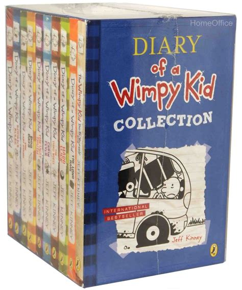 the diary of a series 1 diary of a wimpy kid collection 10 books set collection