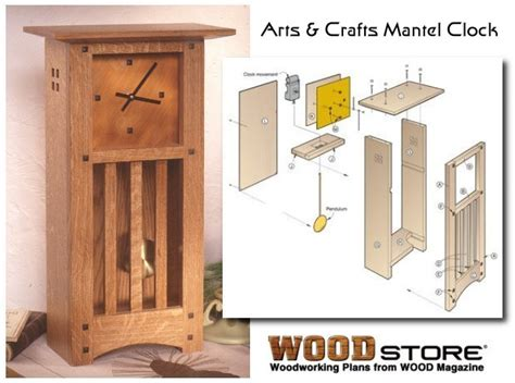 woodworking craft plans clock plans diy build your own clock