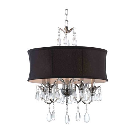 black shade chandelier black drum shade chandelier pendant light 2234